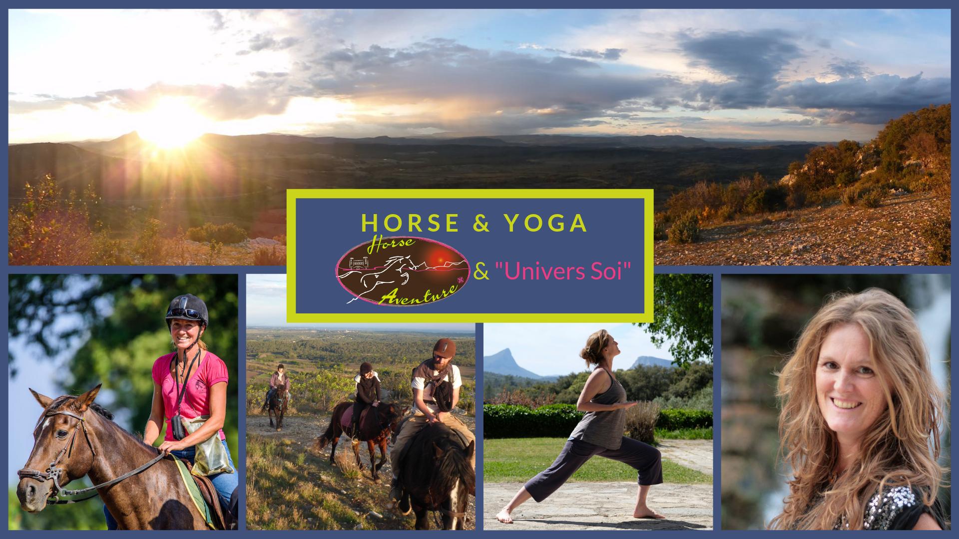 HORSE & YOGA Montpellier balade à cheval